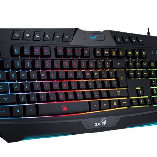 TECLADO GENIUS SCORPION K20 RGB GAMING