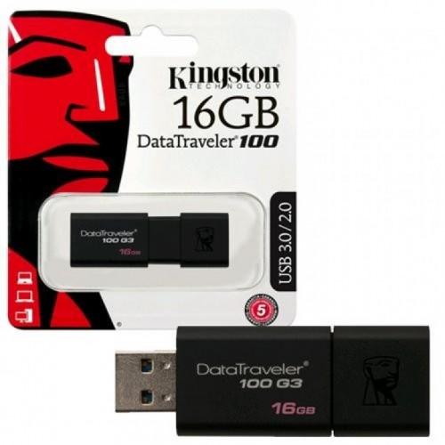 USB 16 GB KINGSTON DT 100 G3 3.0 DT50