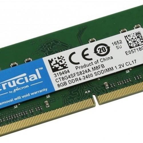 MEMORIA SODIMM 8GB DDR4 2666 MHZ CRUCIAL