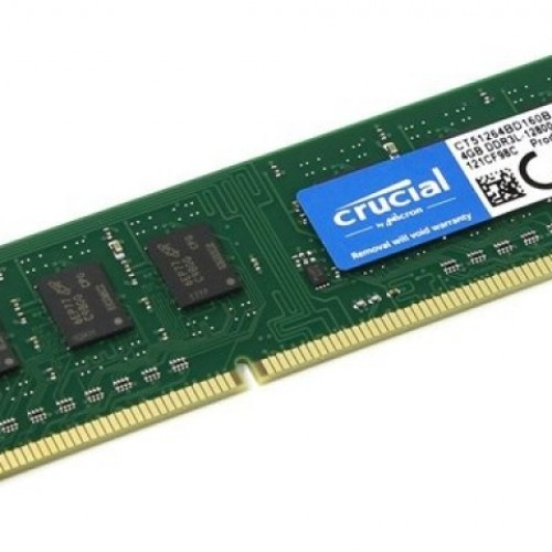 MEMORIA DDR3 4GB 1600 KINGSTON / CRUCIAL