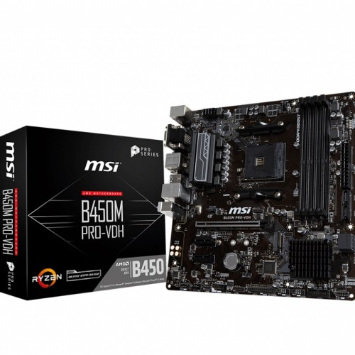 MOTHER MSI B450 M PRO M2 V2