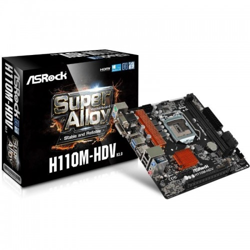 MOTHER ASROCK H110 M-HDV R3.0
