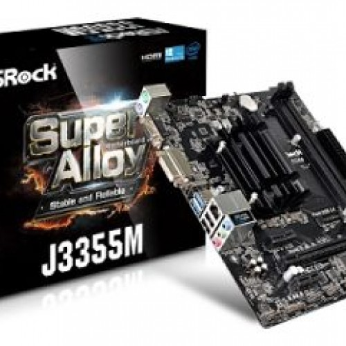 MOTHER + MICRO ASROCK J3355M 2.5GHZ DDR3