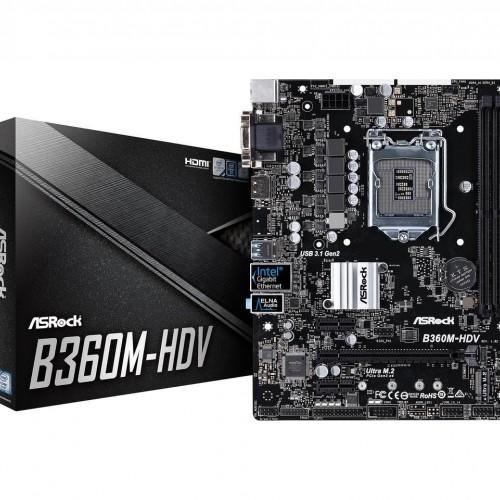 MOTHER ASROCK B360 HDV 1151 DDR4
