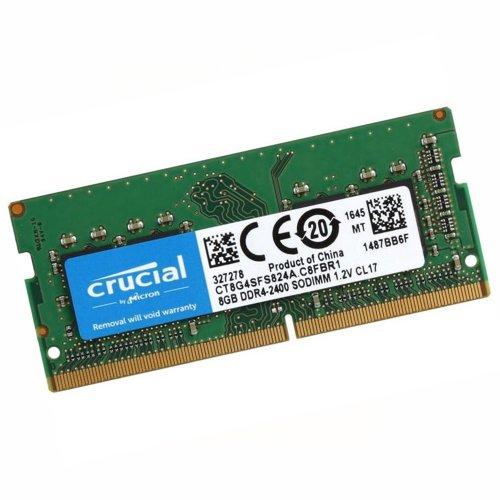 MEMORIA SODIMM 4GB DDR4 2666 MHZ CRUCIAL
